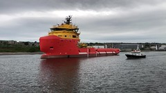 Norsea Fighter - Aberdeen Harbour Scotland - 18/6/2018 (DanoAberdeen) Tags: vikingfighter norseafighter aberdeen amateur aberdeenscotland abdn aberdeenharbour aberdeencity candid clouds vessels video mpeg iphonevideo iphone8plus iphoneography cargoships shipspotting danoaberdeen danophotography caledonia 2018 4k seafarers maritime psv harbour seaport offshore grampian tug oilrigs autumn summer winter spring cloudporn scotland fittie footdee oilotcutter pilotcutter geotagged scottishwaters granitecity northeastscotland workboats ships boats blue oilships northsea northeastsupplyships northseasupplyships scottishwater torry metal sealife lifeatsea sky water abz nikond750 tugboat shipping vessel boat ship sea oil industry