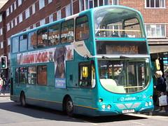 Arriva Midlands Volvo B7TL (Wright Gemini) 4012 UUI 2907 (FJ56 OBL) (Alex S. Transport Photography) Tags: bus outdoor road vehicle arriva arrivamidlands wright gemini volvo b7tl routex84 4012 uui2907 fj56obl