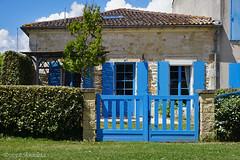 Blue HFF (♥ Annieta ) Tags: annieta mei 2018 sony a6000 holiday vakantie france frankrijk hek fence hff bleu blauw blue allrightsreserved usingthispicturewithoutpermissionisillegal mortagnesurgironde