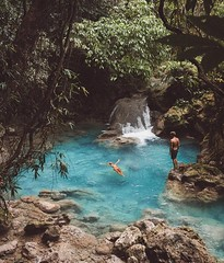 Finding natural jungle pools 😍  🌎 Philippines |  Jack Morris (adventurouslife4us) Tags: adventure wanderlust travel explore outdoor nature photography jungle poolside pools philippines summer vication