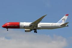 G-CKWE -LGW (B747GAL) Tags: norwegian boeing b7879 dreamliner lgw gatwick egkk jane austen gckwe