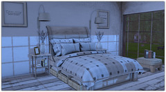 .Earthtone Bedroom (Abi Latzo) Tags: zencreations homeandgarden home inside indoor interiordesign mesh furniture bed bedroom decor secondlife sl shopping
