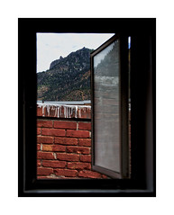 View from Bathroom Window (RiverBearPhoto) Tags: dollar highway us 550 ouray view window san juan mountains
