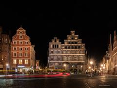 Lüneburg bei Nacht (wernerlohmanns) Tags: nikond750 nachts nachtaufnahmen langzeitbelichtung lichter deutschland lüneburg