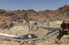 Hoover Dam (rschnaible) Tags: hoover dam southwest colorado river arizona nevada desert hydro electric power generation work production water architecture landscape