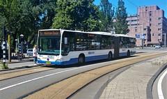 Wie wat bewaart... (Peter ( phonepics only) Eijkman) Tags: amsterdam city gvb bussen busses bus detour roadworks omleiding wegwerkzaamheden rail rails streetcars strassenbahn tram transport trams tramtracks trolley nederland netherlands nederlandse noordholland holland