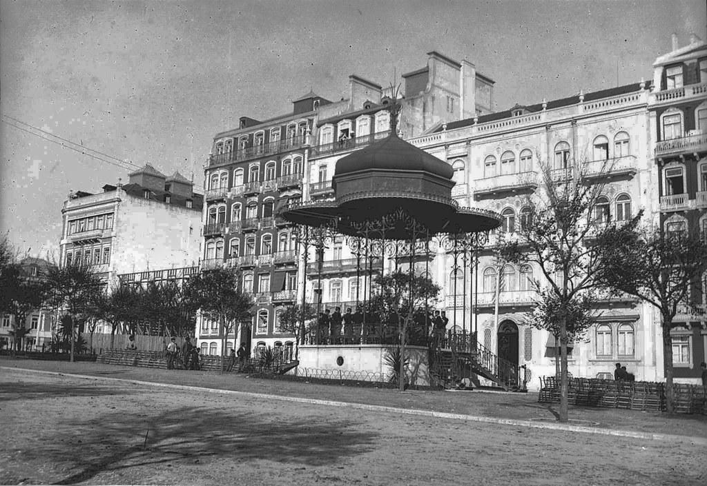 Coreto, Avenida (J.C.Cruz, c. 1900)