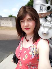 Flighty 2 (Joanne (Hay Llamas!)) Tags: transgender shemale genderfluid genderqueer tg brunette tgirl gurl cute uk brit british britgirl joanne hayllamas concorde selfie