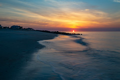 South Carolina Sunrise (APGougePhotography) Tags: edisto edistobeach edistoisland beach island southcarolina low lowcountry nikon nikond800 d80 d800 sirui sun sunrise south carolina longexposure long exposure water ocean sand cloudsstormssunsetssunrises