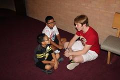 BOSH Volunteer Morgan Blum interviews his buddies