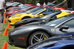 Ferrari's  (1) (Gearhead Photos) Tags: ferrari concours delegance renton washington 2018 166 348 355 360 458 488 456 599 308 328 jon shirley 250 prancing horse red v12 v testarossa lusso gtc4 f12 tdf speciale 275 gtb 246 gts 166mm barchetta