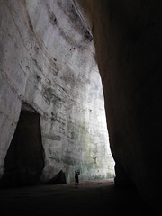 Ear of Dyonisius (SixthIllusion) Tags: ear orecchio dionisio dyonisius ancient greece greek archaeology history cave grotta amazing acustica light shadow italy parco archeologico neapolis siracusa sicilia sicily travel travelling