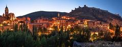 Albarracín - Teruel - Spain (robertopastor) Tags: d850 españa nikon nikon1635mmf4 robertopastor albarracín aragón es teruel panorámica nocturna pueblo