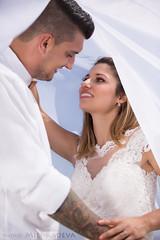 Love by the beach... (MiliRadeva) Tags: wedding love pure happiness man woman couple bride groom husband wife white veil smile dress