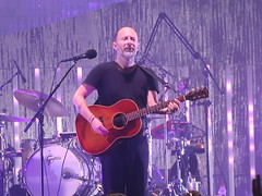 Radiohead - Thom Yorke, Jonny Greenwood, Colin Greenwood, Ed O'Brien & Philip Selway (Peter Hutchins) Tags: radiohead thom yorke jonny greenwood colin ed obrien philip selway thomyorke jonnygreenwood colingreenwood edobrien philipselway madisonsquaregarden newyork ny usa a moon shaped pool summer 2018 tour