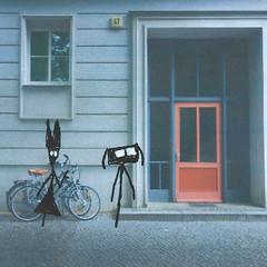 Poppys Door (LittleFears) Tags: fiction flashfiction writing shortstory humour humor funny art illustration doodle