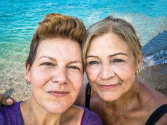 As forever as we can (Melissa Maples) Tags: kemer turkey türkiye asia 土耳其 apple iphone iphonex cameraphone summer beach qualista mediterranean sea water me melissa maples selfportrait woman brunette friends blonde margit