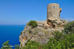 Torre Del Verger (Fabke.be) Tags: 07191 banyalbufar illes balears balearen balearics baleares island eilan blue sky stones monument mountain rocks inexplore explore mallorca 2018 holiday vacation nice weather landscape geotagged tagged map location view amazing beautiful colors colorful canon dslr flickr photography fantastic outdoor