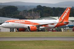 A320NEO G-UZHH easyjet - Edinburgh Airport 22/7/18 (robert_pittuck) Tags: a320neo guzhh easyjet edinburgh airport 22718
