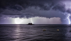 Stormy Seas (Chris Bainbridge1) Tags: church st nelelya saint katic island 14th century montenegro petrovac adriatic coast sveta nedjelja