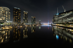 Docklands, Melbourne (paullee24) Tags: batis2818 docklands melbourne night