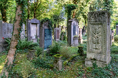R.I.P. (Janos Kertesz) Tags: religion old stone cemetery tomb art historic graveyard tree death tombstone israelite germany