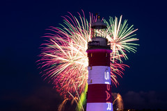 British Firework Championships Night 2. (Rich Walker75) Tags: plymouth lighthouse fireworks canon england efs1585mmisusm eos eos80d event events evening nightshot nighttime nightsky nightlights britishfireworkchampionships britainsoceancity devon