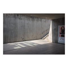 Metro Station. Kastrup, Denmark (August 2018) (csinnbeck) Tags: kastrup copenhagen cph denmark x100 concrete 35mm fujifilm metro station