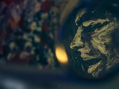 Prisme du Bokeh (Meot Youri) Tags: bokeh flou loupe lentille optique sombre dark paint peinture chaleur night nuit focus