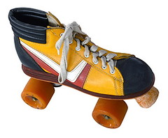 Retro Roller Skate (ObserverXtra) Tags: 60s 70s 80s antique boot brake derby design dirty fashion fashioned four fun grunge grungy isolated kid lace laced leisure old oldschool orange quad recreation red retro roll roller rollerskate rollerskates seventies shoe shoelace shoes skate skates skating sport stripe style texture used vintage weathered wheel white worn yellow youth june 21 2018 observer