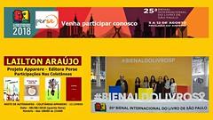25ª BIENAL INTERNACIONAL DO LIVRO DE SÃO PAULO - 2018 - 004 (LAILTON ARAÚJO) Tags: 25ªbienalinternacional livro livros sãopaulosp sãopaulo brasil brazil paláciodasconvençõesanhembi lailtonaraújo autor escritor poeta poema projetoapparere antologialiterária antologias editoraperse persepubliquese literatura eventosliterários festaliterária feiraliterária feiras feiradolivro feiradeliteratura cultura educação escolas faculdades universidades publicaçõesdelivros editoras publicaçõesliterárias ler leitura bienalinternacional livrosdobrasil literaturadobrasil autoresindependentes escrita imprensa revistas jornais autoresfamosos