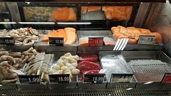 Fresh Scottish Salmon Fillets (Studio d'Xavier) Tags: werehere storesnapshotssneakilyphotographingcommerce freshscottishsalmonfillets fish seafood salmon grocerystore supermarket