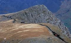 Steam diesel cross (gearlok) Tags: wales snowdon snowdonmountainrailway clogwyn