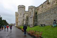 Towers and walls (Can Pac Swire) Tags: windsor castle berkshire sl4 england english great britain british uk unitedkingdom royal residence building architecture 2016aimg2445 friend michiel