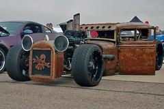 1930-31 Ford Sedan Rat Rod (skyhawkpc) Tags: 2018 kftg ftg frontrangeairport watkins colorado co nikon allrightsreserved garyverver copyright 1930 1931 ford sedan ratrod