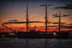 Night Sails (tagois) Tags: twilight ship iceland ísland reykjavík