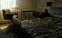Betriebserholungsobjekt (6) (david_drei) Tags: lostplace ferienheim decay abandoned betten tiltshift ts