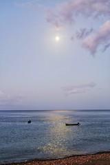 (fabhuleux) Tags: nature tamron 6d canon france martinique antilles couché sunset mer sea soleil sun plage beach eau water lune moon