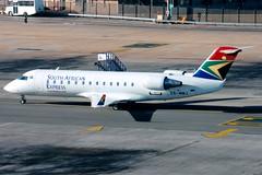 South African Express | Bombardier CRJ200 | ZS-NMJ | Johannesburg International (Dennis HKG) Tags: southafricanairways southafricanexpress saexpress saa sa exy xz aircraft airplane airport plane planespotting regionaljet bombardier crj bombardiercrj crj100 crj200 zsnmj