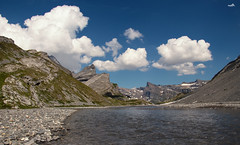 Lämmerenboden (VandenBerge Photography) Tags: switzerland lonelyplanet lämmerenboden canon clouds nature nationalgeographic leukerbad valais europe eos80d mountains alps water glacialwaters season summer pov landscape sky