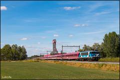 RP Ex-NS 1781 + Sziget (H) Express, Hengelo Westermaat (LokLife) Tags: railpromo rp sziget express 1781 101001 exns 1700 amersfoort hengelo westermaat train grass hungary