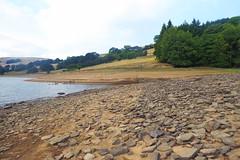 Village ruins at Ladybower Reservoir    August 2018 (dave_attrill) Tags: ladybower reservoir derwent lowwater august 2018 peakdistrict derbyshire bamford