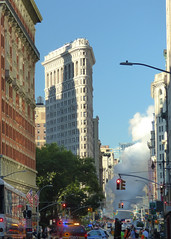 FlatIron Steam Explosion (Slip Mahoney) Tags: nyc downtown flatiron 5thave fifthavenue steamexplosion citystreets disaster 23rdstreet