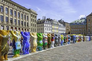 "Exhibition ""United Buddy Bears Riga 2018"""