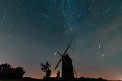 Perseid Meteor Shower 2018 (stefg1971) Tags: meteors shower perseid flash iridium night stars mill france vendee old