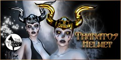 VENGE - Thantatos Helmet - August Underdog Exclusive (Vixn Dagger - Vengeful Threads / VENGE) Tags: theunderdogevent underdogevent underdog venge vengefulthreads accessory helmet roleplay rp fantasy dark gothic goth macabre pagan occult vampire vamp