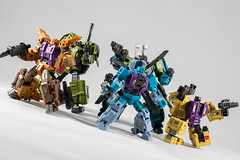 DSC07663 (KayOne73) Tags: iron factory legends scale transformers transformer robot toy figures 3rd party sony a7rii nikkor nikon 40mm combaticons bruticus combiner class war giant micro macro lens dx