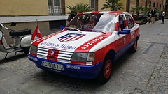 Peugeot 309 GLD, (1989). (serrvill -Txemari) Tags: atléticomadrid atlétic futbol peugeot309