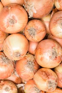 Fresh onions. Onions background.