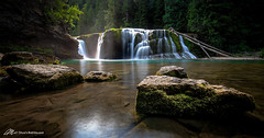 The Miracle at Lower Lewis (Matt Straite Photography) Tags: waterfall stream river water reflection washington lower lewis falls nature landscape canon tripod